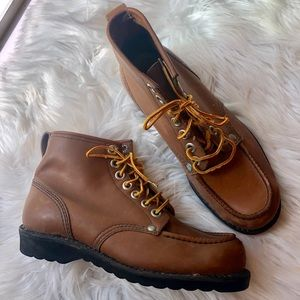 Other - Vintage leather mens 7 oil resistant work boots